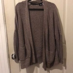 Urban Outfitters BDG Taupe Cardigan